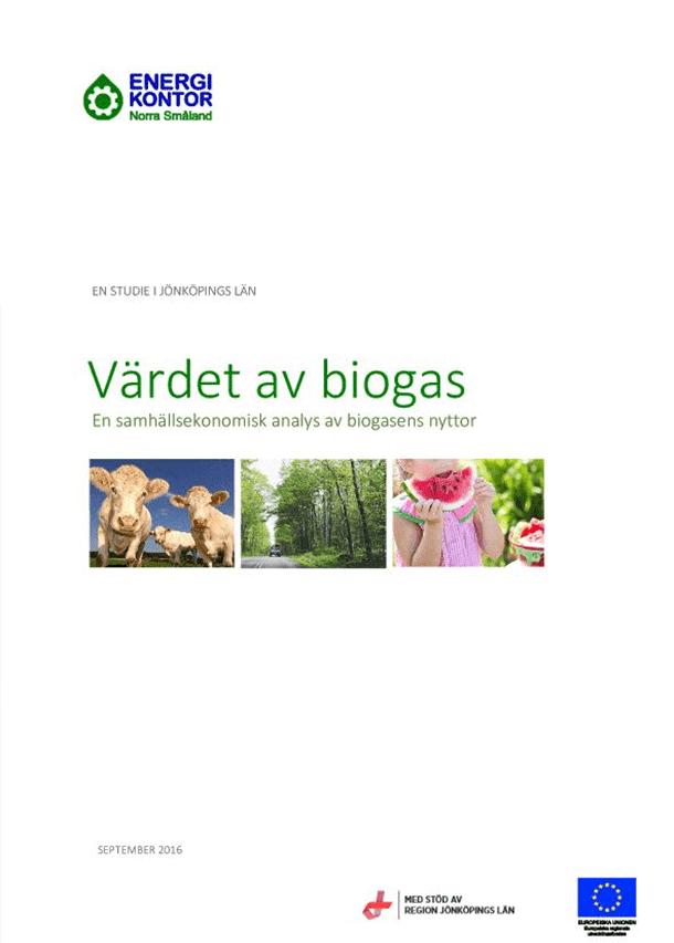 Värdet av biogas